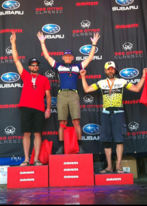 Russell on the podium.
