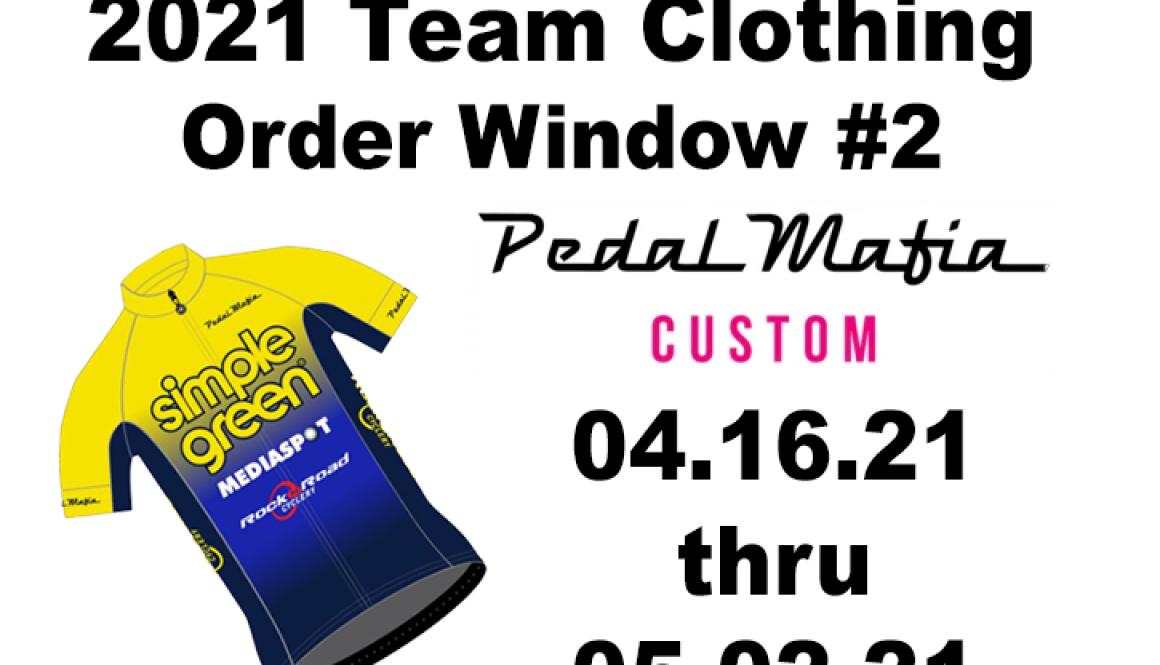 2021 Order Window #2